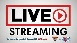 Amadori Cesena - Sinermatic Ozzano in Diretta Streaming