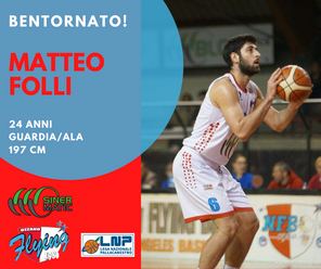 Matteo Folli ritorna ad Ozzano