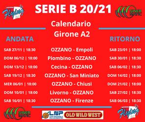 Nuovi calendari, è subito Ozzano – Empoli