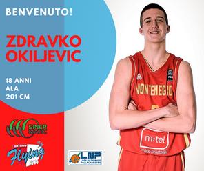Il giovane talento montenegrino Okiljevic firma per Ozzano
