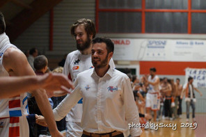 Sinermatic Ozzano, confermato anche il vice coach Luca Pizzi
