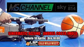 Il derby Ozzano-Imola in diretta TV su MS Channel! Palla a due alle ore 18