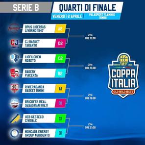 Spazio alla Coppa Italia nel week-end pasquale