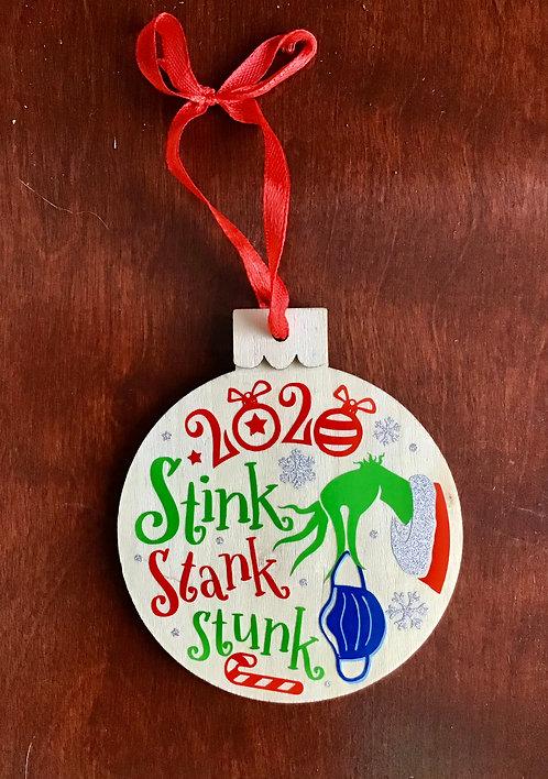 Stinky 2020 ornament