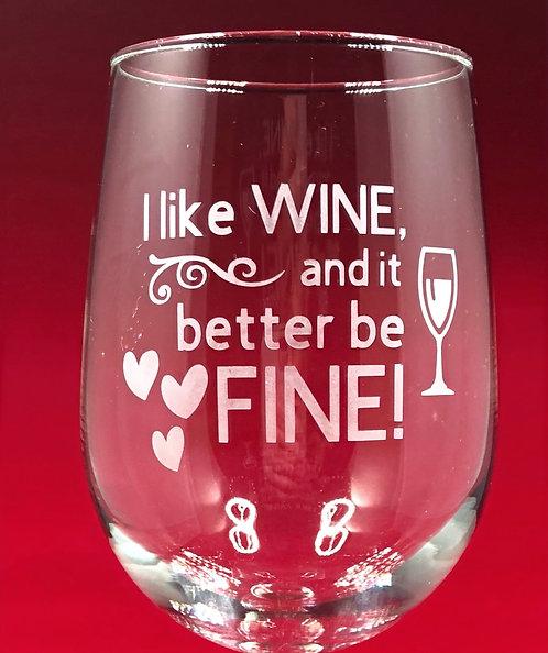 I like WINE...