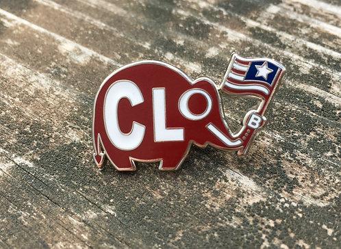 CLoL...B lapel pin