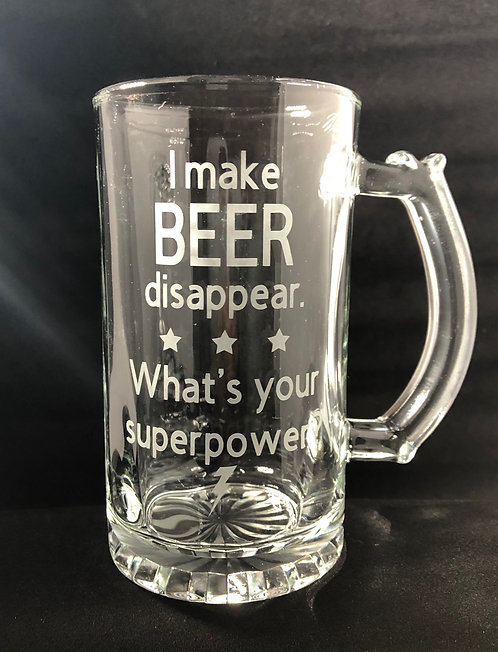 I make beer disappear...
