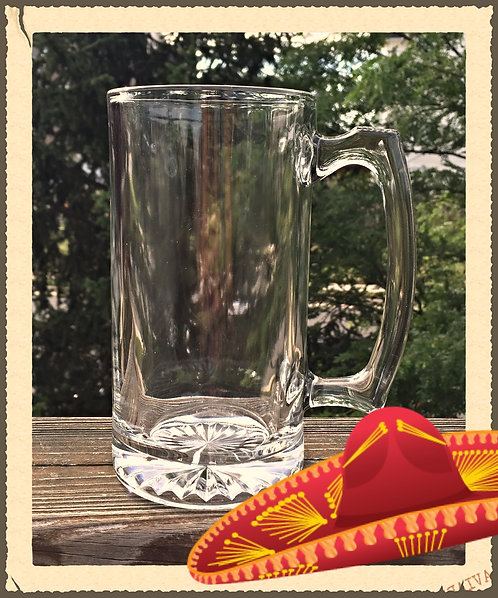 Design your own Beer Mug/Beer Stein Glass