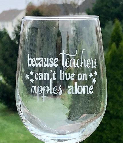 because teachers...
