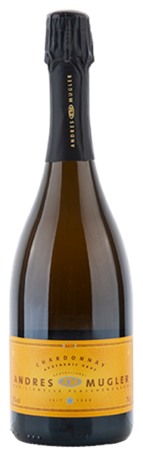 Andres & Mugler Chardonnay Sekt