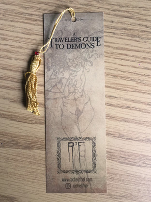 A Traveler's Guide to Demons: Bookmark (BACK)
