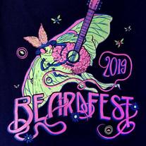 Beardfest 2019 Official Tank Top (FRONT)