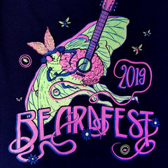 Beardfest 2019 Official Tank Top (FRONT)