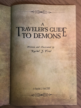 """A Traveler's Guide to Demons"""