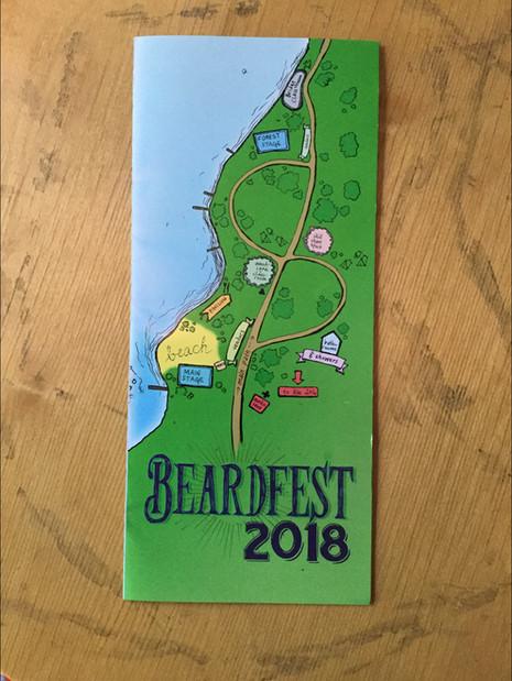 Beardfest 2018 Festival Pamphlet