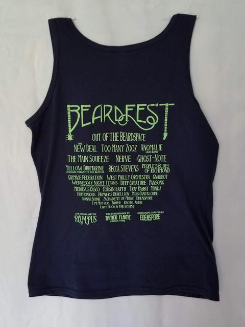 Beardfest 2019 Official Tank Top (BACK)