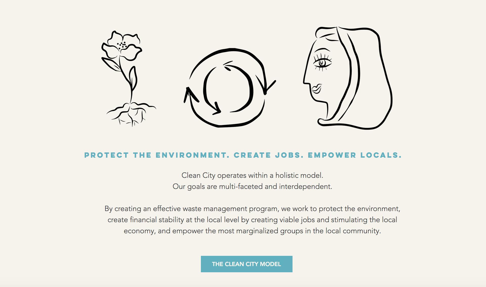 Clean City - Illustrations