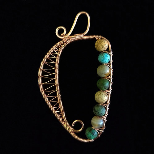 Woven Harp w/ Multi Color Stones