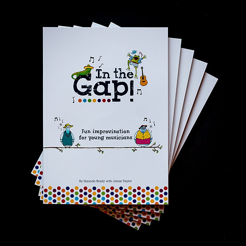 """In The Gap"" book and CD"