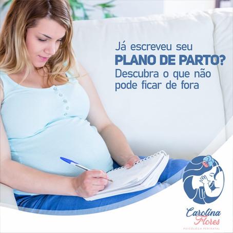 O que é um plano de parto e como elaborar o seu?