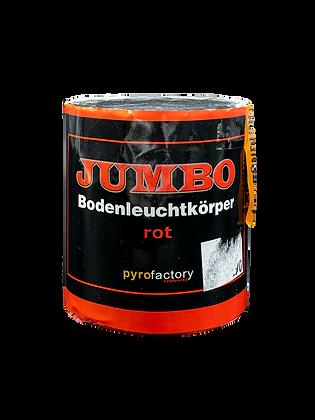 Jumbo Bodenleuchtkörper Rot