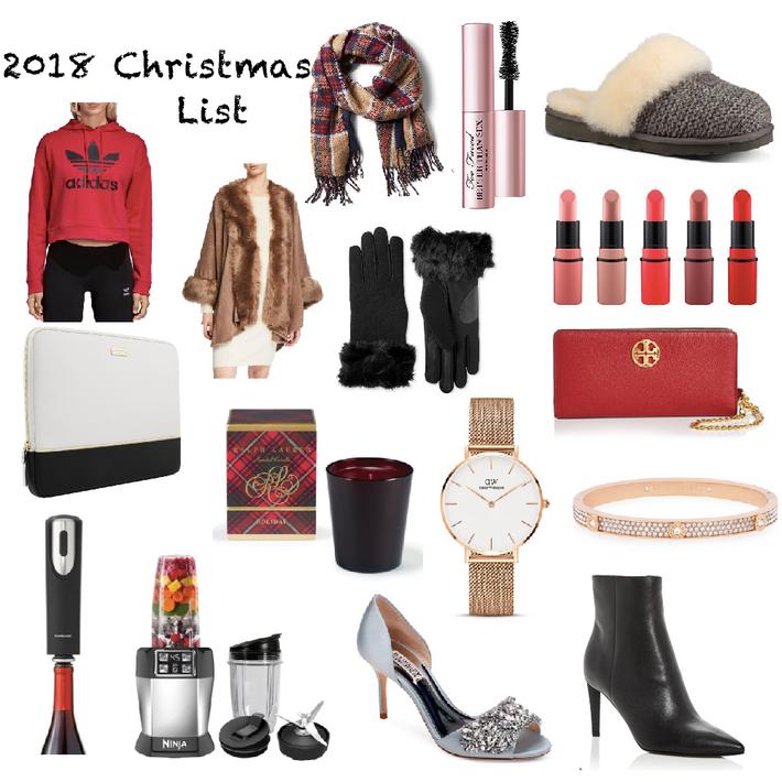 Christmas/Holiday Wish List