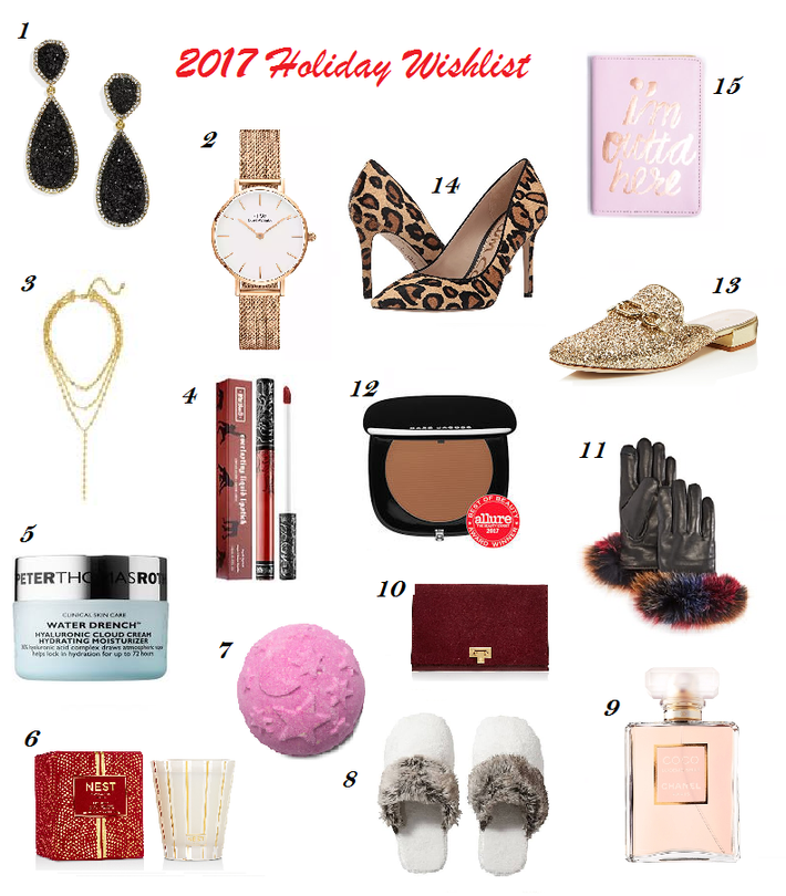 2017 Holiday Wishlist