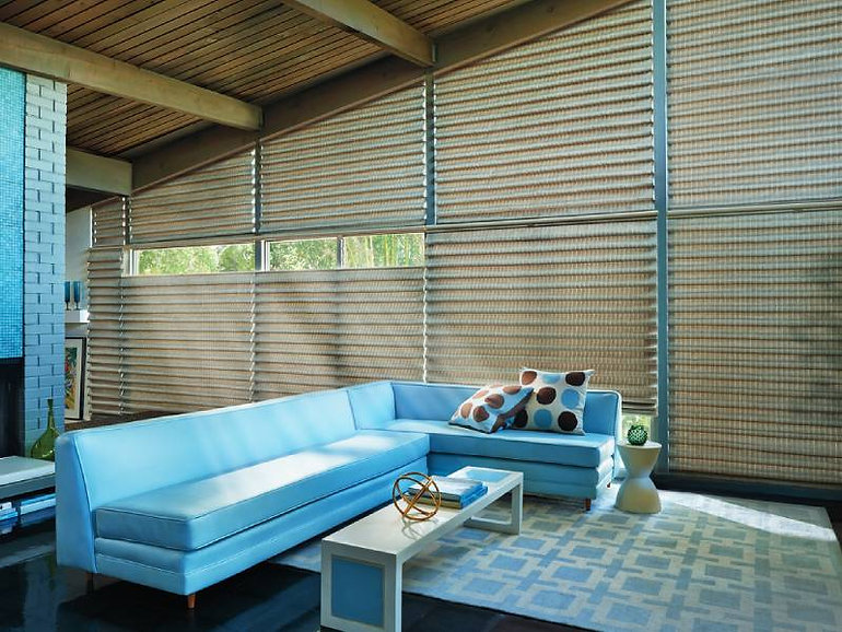 Hunter Douglas Vignette ® Modern Roman Shades Roman Blinds — Myrtle Beach, South Carolina (SC)