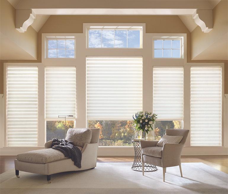 Hunter Douglas Solera ® Soft Shades Roman Shades and Roman Blinds — Myrtle Beach, South Carolina (SC)