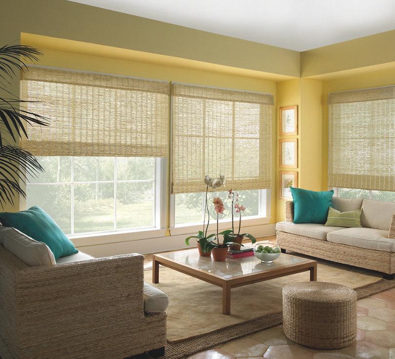 Hunter Douglas Provenance® Woven Wood Shades Myrtle Beach, South Carolina (SC) bamboo shades, wood shades