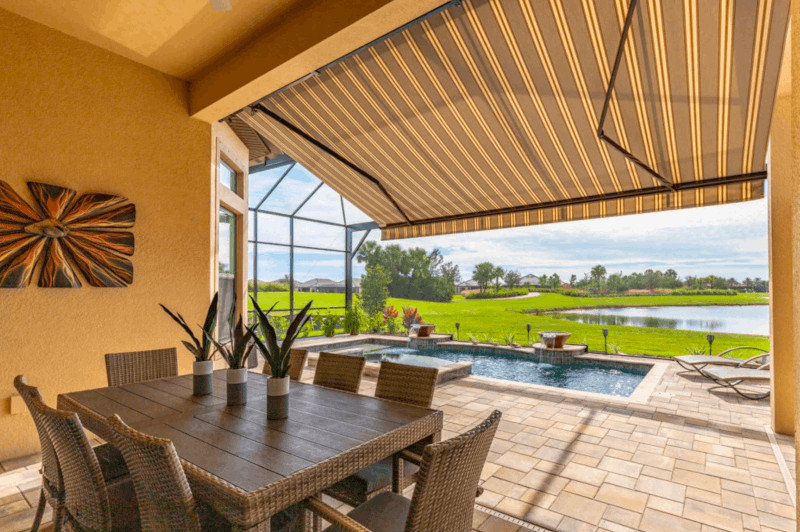 Sunbrella® Awnings, Pergolas, Shade Sails — Myrtle Beach, South Carolina (SC) retractable awnings, patio awnings