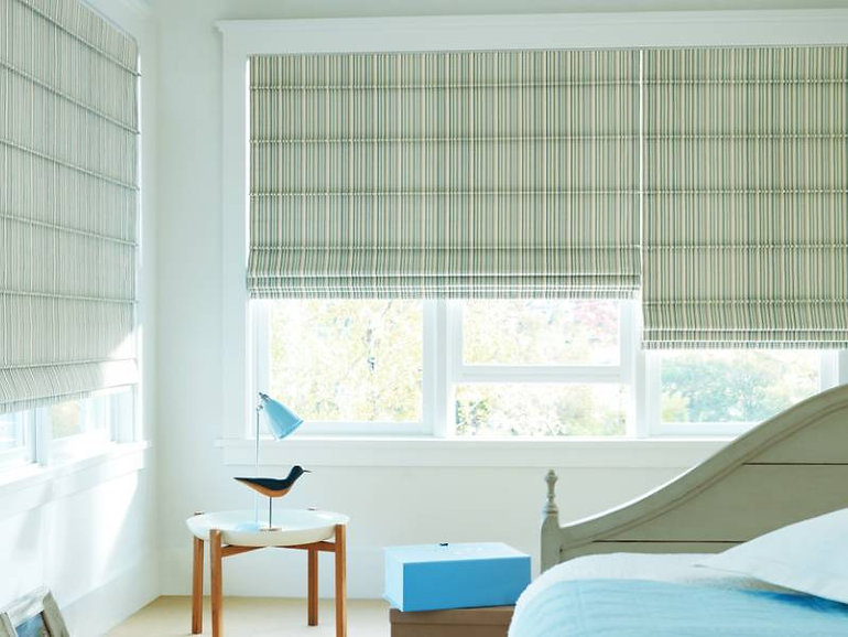 Hunter Douglas Design Studio™ Roman Shades and Roman Blinds — Myrtle Beach, South Carolina (SC)