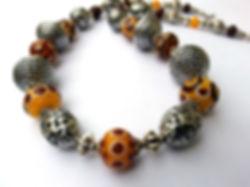 collier verre murano claramints