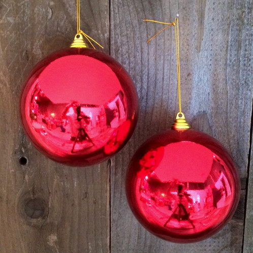 Extra Large Ball Ornaments | Lee Display Seasonals