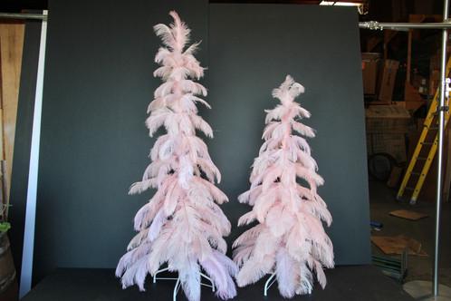 Vintage Ostrich Feather Christmas Tree | Lee Display Seasonals