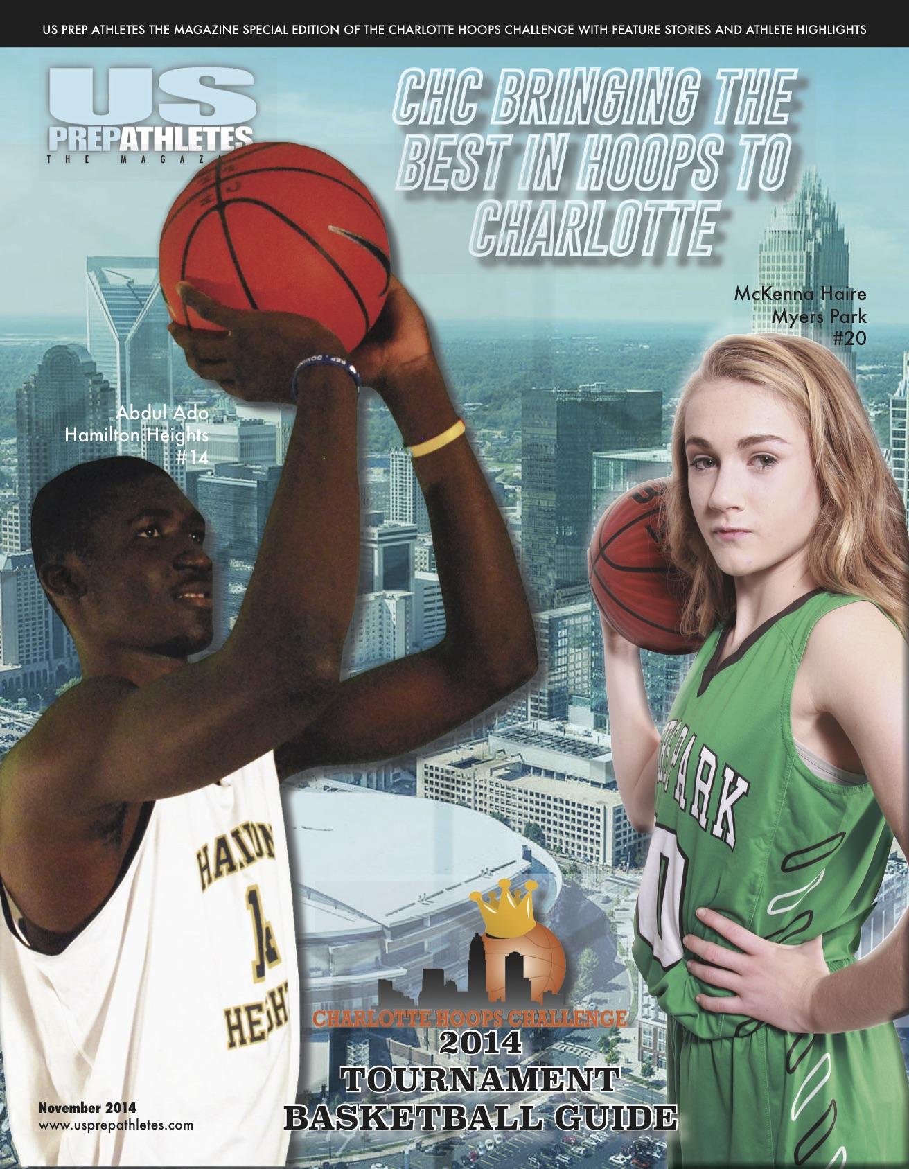 US Prep Athletes Magazine Cover