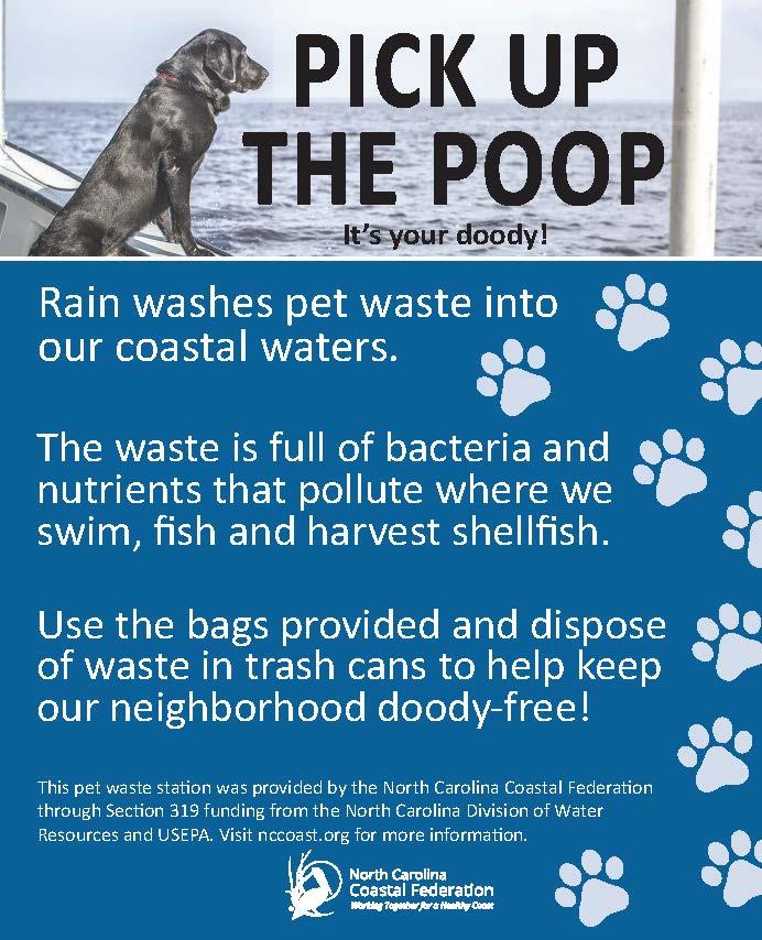 Pet Waste Sign