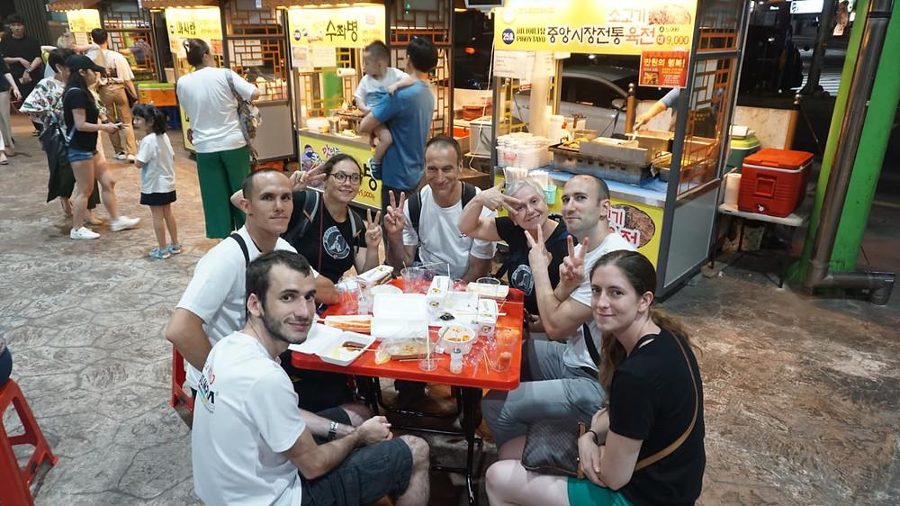 Gyeongju market street food