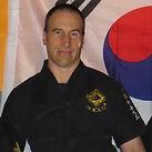 pratiquant de sabre coréen