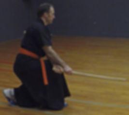 gumbup exercice de forme au sabre