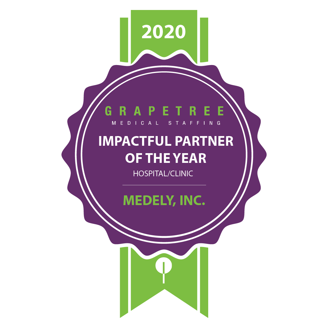 IMPACTFUL PARTNER OF THE YEAR (HOSPITAL/CLINIC) Medley, Inc.