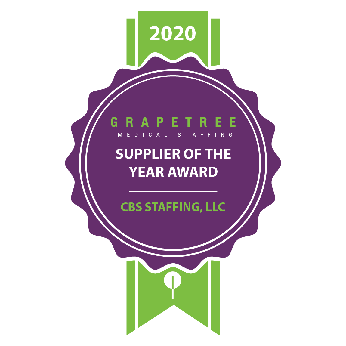 SUPPLIER PARTNER OF THE YEAR CBS Staffing, LLC