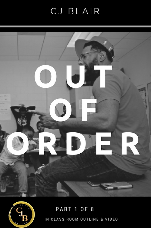 Part 2: Out of Order PRE-ORDER