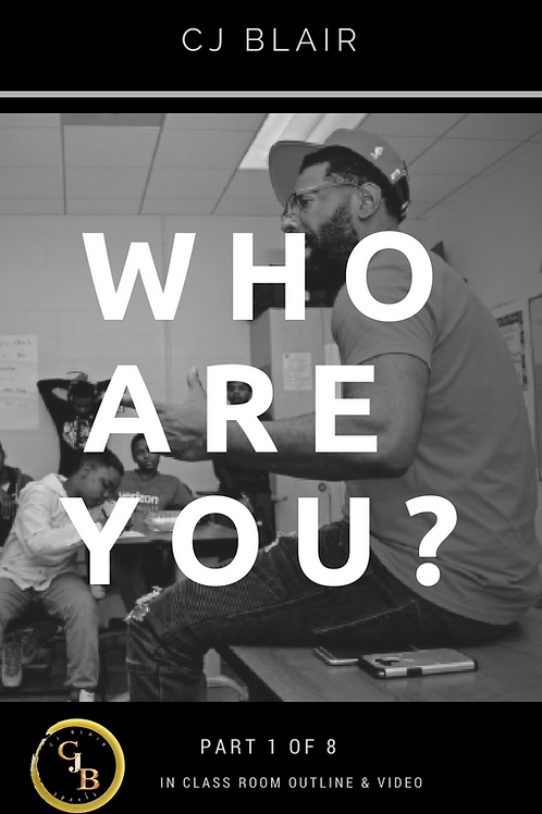 Part 1: Who Are You? PRE-ORDER