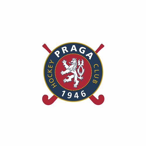 Samolepka logo HC 1946 Praga 6x6 cm