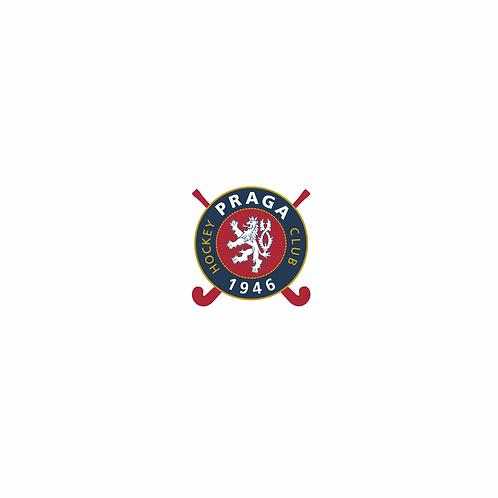 Samolepka logo HC 1946 Praga 3x3 cm