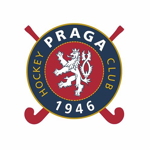 Samolepka logo HC 1946 Praga 10x10 cm