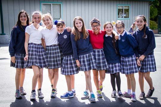 Happy Graduates of St. Luke School