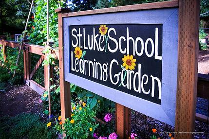 St Luke School Student Learning Garden