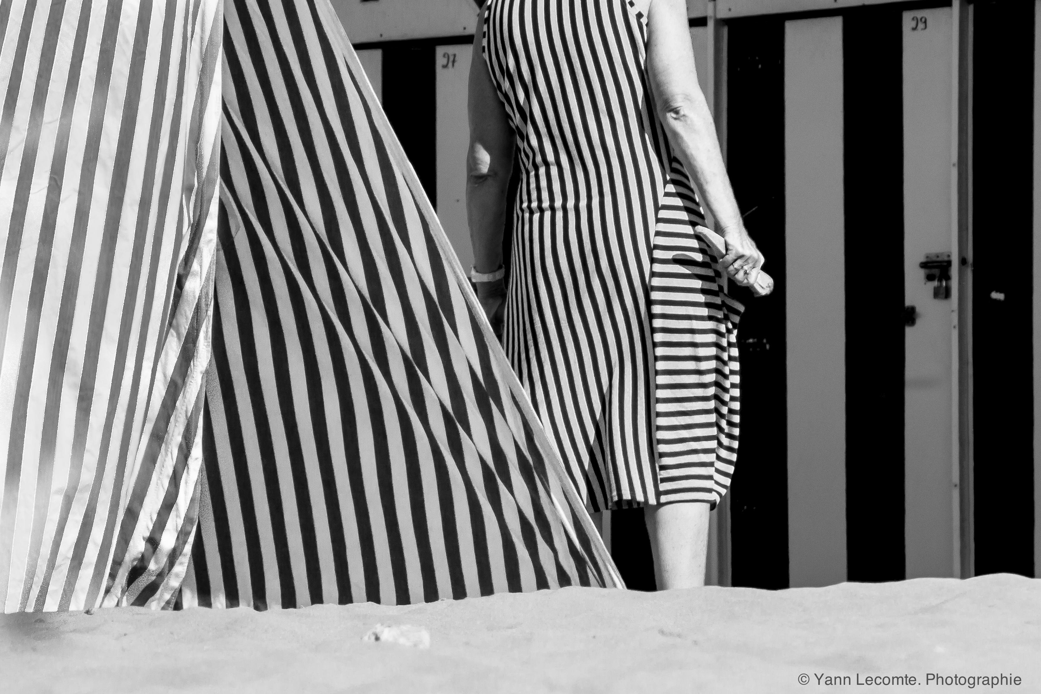 Attente estivale- Photographie Yann Lecomte- Sablographie
